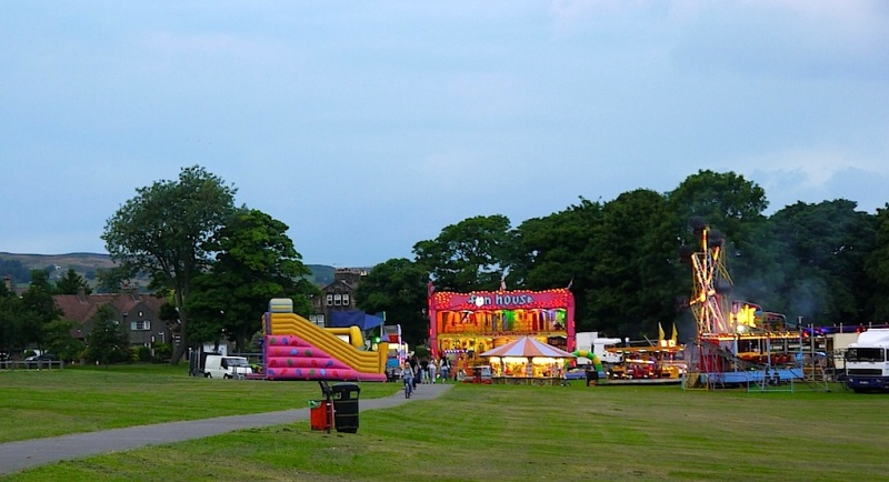 Menston village funfair, August 2013