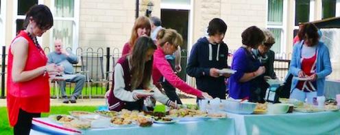 Menston Hall Jubilee 'Big Lunch' 2