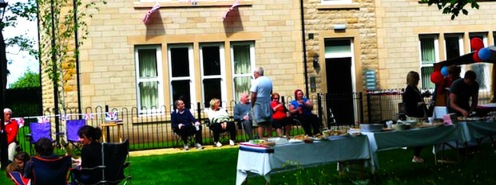 Menston Hall Jubilee 'Big Lunch' 6