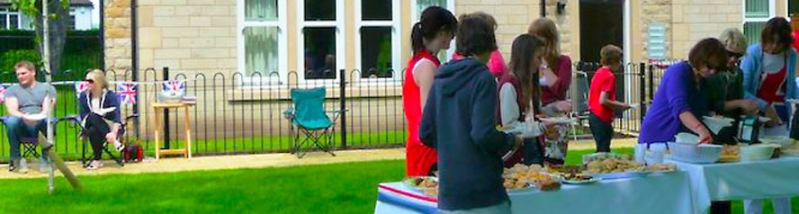 Menston Hall Jubilee 'Big Lunch' 3