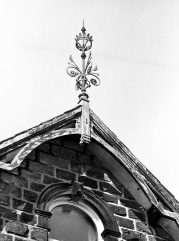 Roof decoration on Main Street