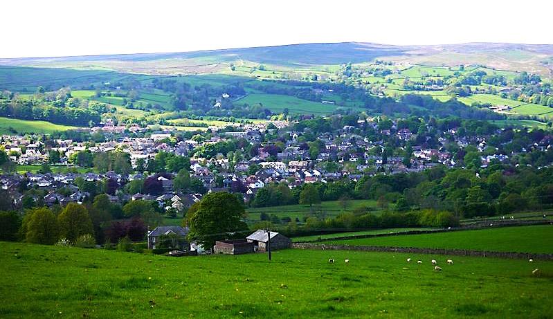 Menston village view 1