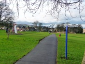 Menston village park