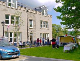 Menston Hall Jubilee 'Big Lunch' 15