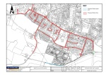 Map showing proposed Menston 20mph/30mph sections