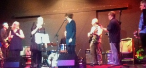 Soul Surgeons on stage at the Menston Kirklands Community Centre