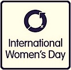 Logo for International Women's Day, 8 March