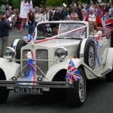 The Lord Mayor's car in the Jubilee procession 2012