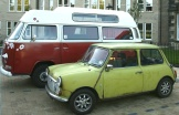 You wont see these this year though Mini and Lofty both live in Menston. Maybe they'll get spruced up for the 2016 show