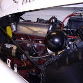 In the MG engine compartment at the 2012 show