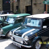 Some classic Minis at the 2012 show