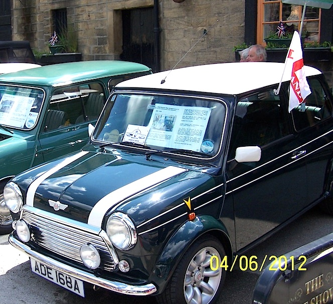 Classic Mini ADE at the show in 2012