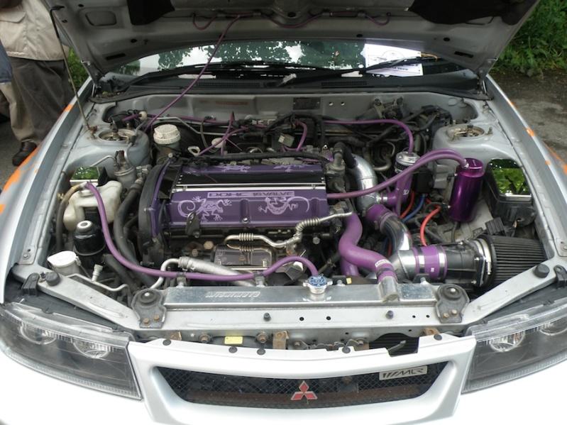 Mitsubishi engine at the 2012 show