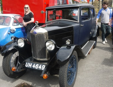 Menston Vehicle Show 5 May 2014