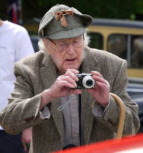 'Photographer' at the Menston Village Vehicle Show 2014