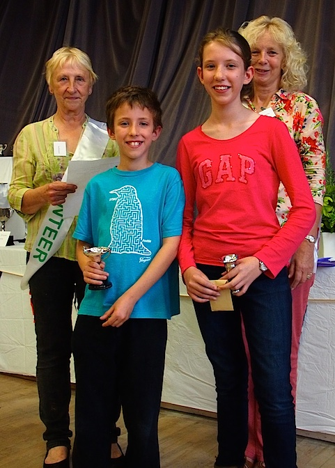Owen and Maria Sage with cups for floral art, novelty and baking