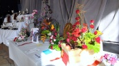 More of the spectacular floral arrangements